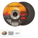 Discuri de polizat Cubitron  II pentru prelucrarea otelurilor inoxidabile