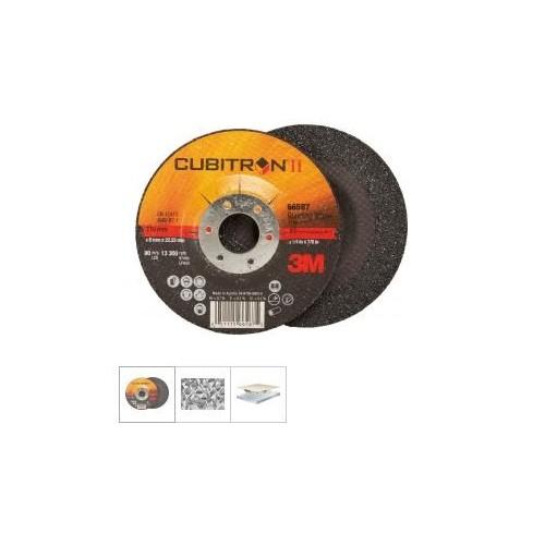 Discuri de polizat ptr inox, Cubitron II, 125x7,0mm