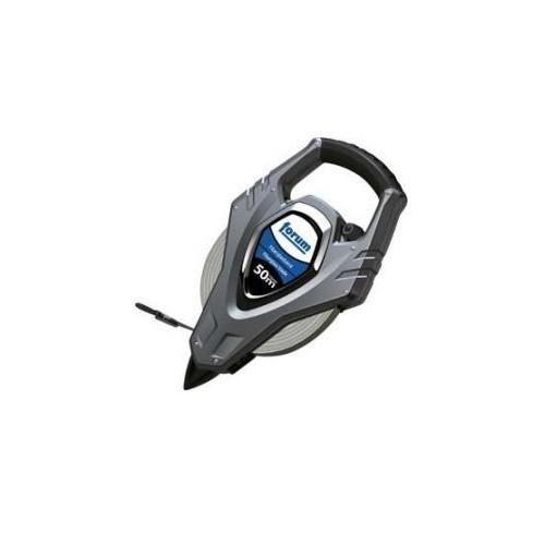 Ruleta cu cadru, din plastic, banda de otel, 30mx13mm