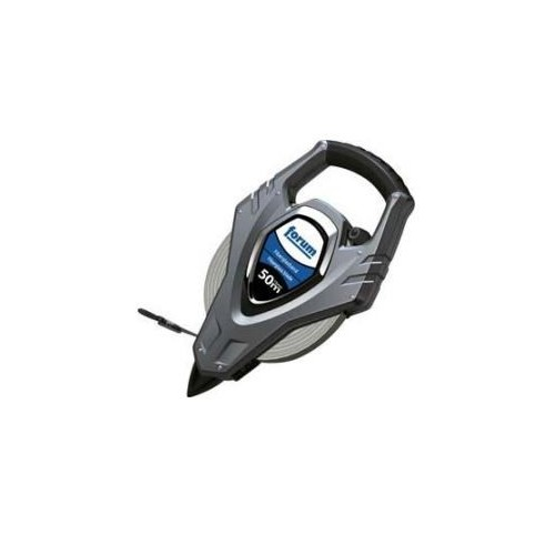 Ruleta cu cadru, din plastic, banda de otel, 50mx13mm