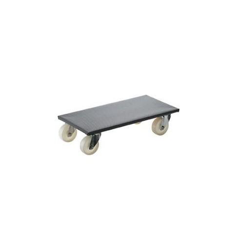 Carucior universal pentru transport 600x500mm, 350 kg, roti cauciuc