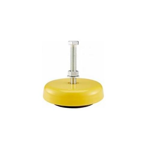 Suporti pt nivelare utilaje, reglabili, Ø80mm, M10, inaltime 25mm, 600Kg, LM 1-11