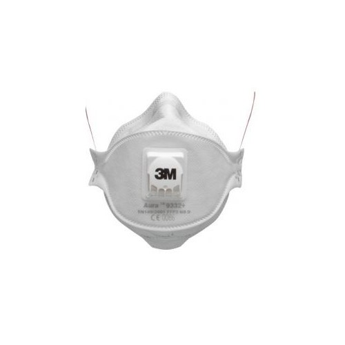 Masca de protectie pt praf fin 9332+, cu supapa expiraretie P3